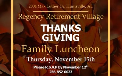 Thanksgiving Family Luncheon