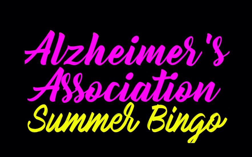 Alzheimer's Association Summer Bingo