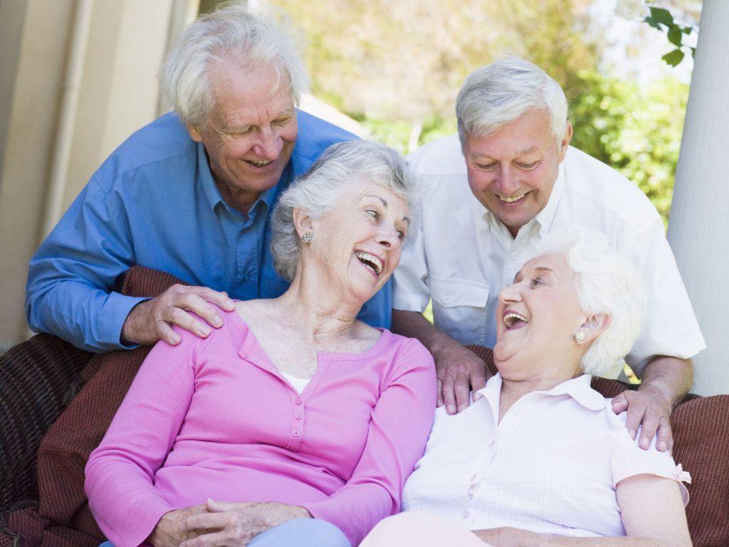 Happy Residents at Senior Living in Huntsville