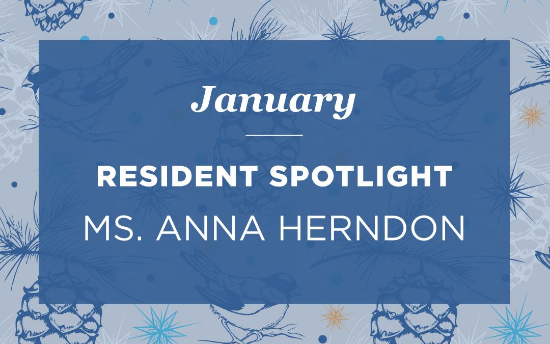 Ms. Anna Herndon