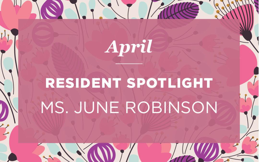 Ms. June Robinson