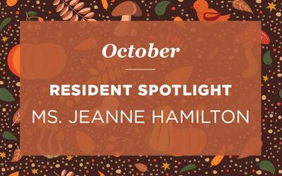 Ms. Jeanne Hamilton